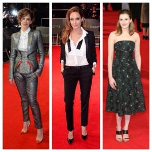 Ruth Wilson, Angelina Jolie & Laura Carmichael