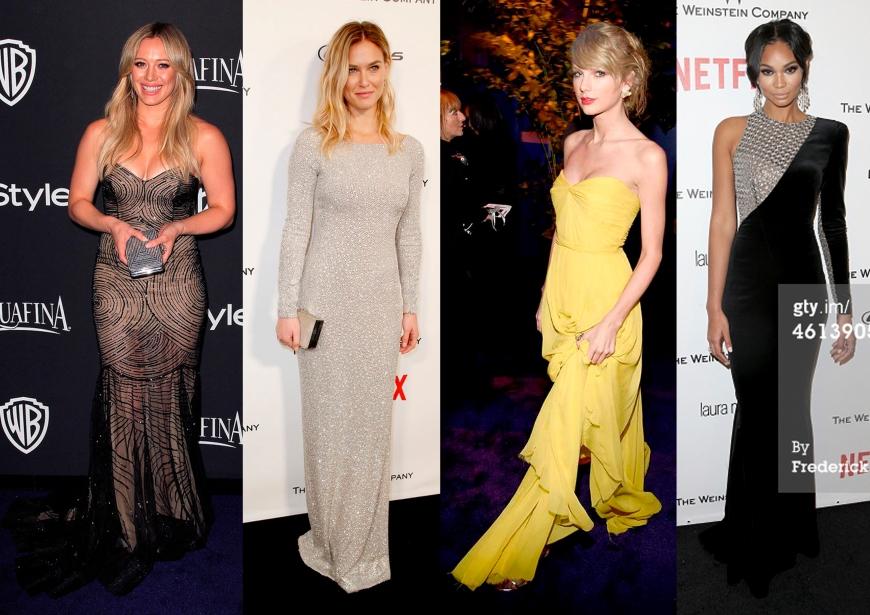 Hillary Duff, Bar Rafaeli, Taylor Swift, Chanel Iman
