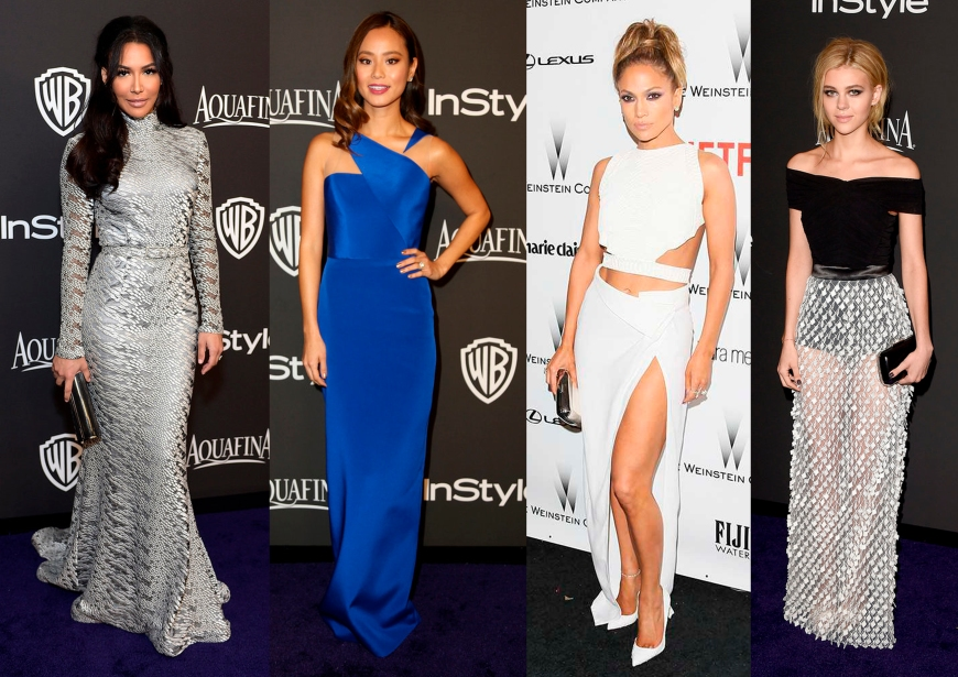 Naya Rivera, Jamie Chung, Jennifer Lopez, Nicola Peltz
