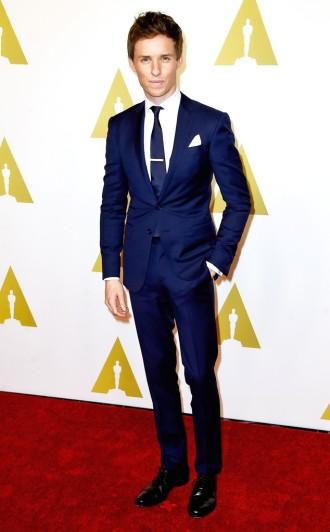 Eddie Redmayne - concorre à melhor ator