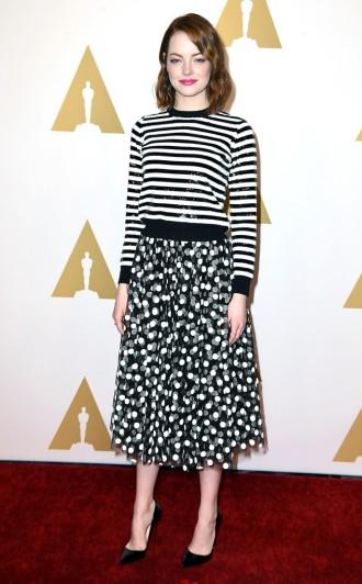 Emma Stone - concorre à melhor atriz coadjuvante