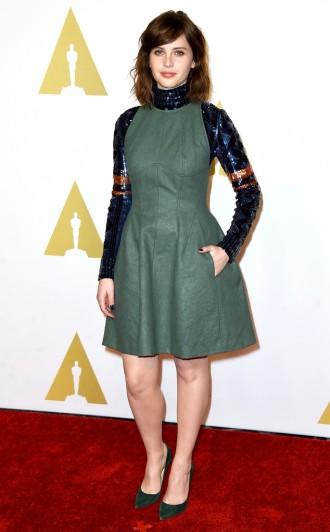 Felicity Jones - concorre à melhor atriz