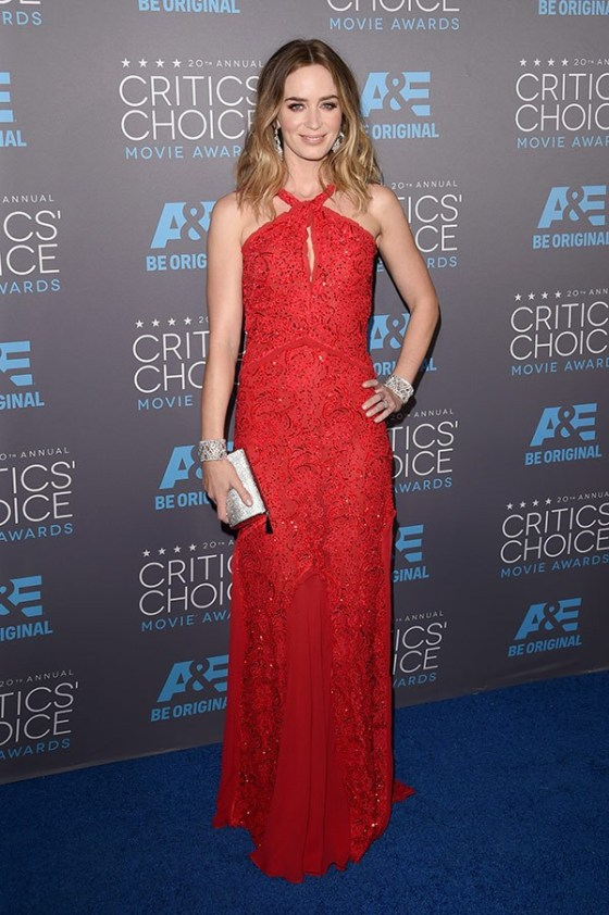 EMILY BLUNT - Critics Choice Award